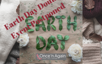 Earth Day Double Is Coming–Consign Now!